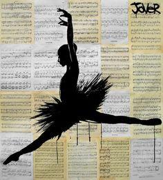 "Saatchi Online Artist Loui Jover; Drawing, ""odile"" #art"