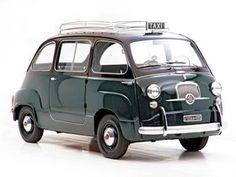 Fotos de Fiat 600 Multipla Taxi 1956