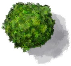 How to colour quick trees for RPG maps