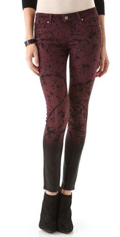 Paige Denim Studio 54 Verdugo Ultra Skinny Jeans