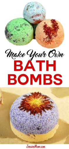 DIY bath bombs -- gr
