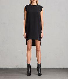 Women's Tonya Lew Silk Dress (black) - Image 1