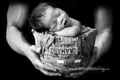 His Mom and Dad are Heroes | Newborn Photography, Jacksonville NC    melissatsaoblog.com