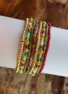 Seed bead bracelet beaded bracelet stretch bracelet beaded