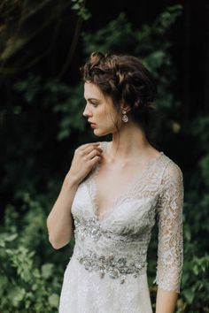 This bridal inspiration session features five gorgeous wedding gowns, Leixlip Manor and Gardens, and the exquisite imagery of photographer Paula O'Hara.