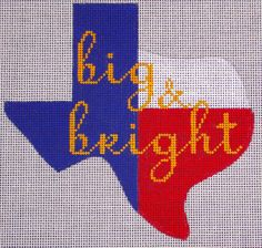 Big & Bright by EyeCandy Needleart