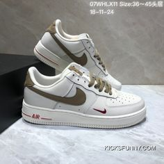 Discount Nike Air Force One Low Metallic Gold Low Classic Gold Patent  Sneakers White Gold Hook 07Whlx11 18-11-24 All Size e821bd926
