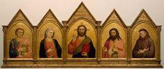 The Peruzzi Altarpiece, Giotto di Bondone