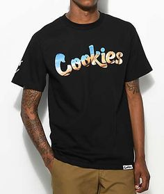 Cookies Thin Mint Dime Piece Black T-Shirt