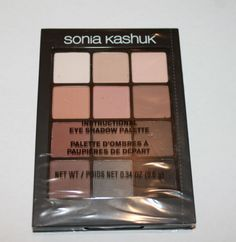 Sonia-Kashuk-Eye-ON-Neutral-02-Matte-Eye-Couture-Shadow-Palette-USA-TRACKING