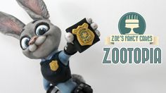 How to make Judy hopps from disney's Zootopia- this is cake- what?