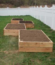 caissons pour le jardinage!! j'adore!!