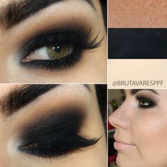 Aprenda a fazer o famoso olho preto esfumadoPausa para Feminices