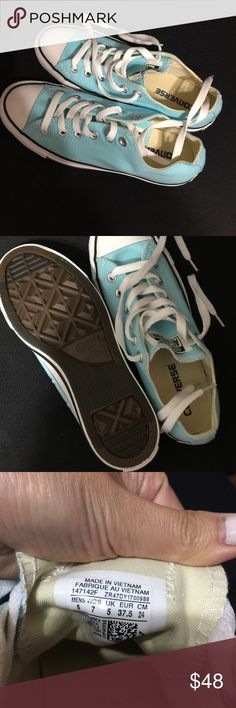 Unisex mint converse sneaker shoes Brand new-Men's size 5, women size 7. Will ship in a different box. 🎁& a free gift.🎁🎁🎉 Converse Shoes Sneakers