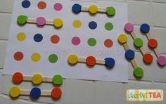 73 Atividades de coordenação motora, raciocínio lógico, cores... - Aluno On