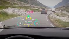 Your Introduction To AR Will Most Likely Be In Your Car—Projecting holograms on the windshield that assist rather than distract drivers is the next great data visualization challenge; Details>