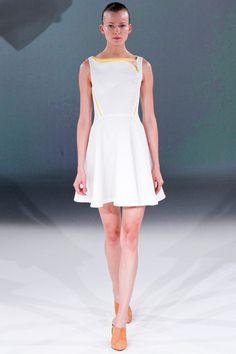 Spring 2013 RTW, Designer: Chalayan, Model: Karo Mrozkova