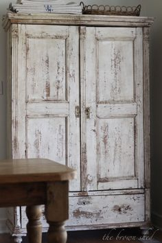 1000 Images About White And Brown Armoire On Pinterest