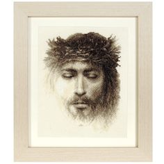 Jesus Christ - Cross Stitch, Needlepoint, Stitchery, and Embroidery Kits, Projects, and Needlecraft Tools | Stitchery