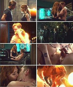 the one && only clace scenes Best Tv Shows, Best Shows Ever, Favorite Tv Shows, Clary Et Jace, Freeform Tv Shows, Shadowhunters Series, Dominic Sherwood, Cassandra Clare Books, Jace Wayland