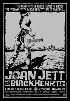Joan Jett & The Blackhearts Concert Poster