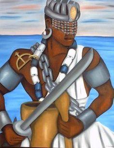Oxaguian, orixá jovem e guerreiro.