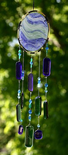 Wind chimes  by getglassy, via Flickr