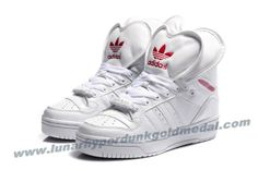 Adidas Attitude Logo Double Heart Tongue Shoes White For Sale