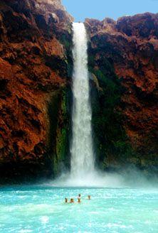 Havasupai Falls, for my 20th wedding anniversary, 3 years away!!! Saving now