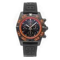 Breitling Chronomat Raven Auto Blacksteel Mens Strap Watch for sale online Breitling Superocean Heritage, Breitling Navitimer, Breitling Chronomat Evolution, Raven, Pre Owned Watches, Automatic Watches For Men, Black Crystals, Black Rubber, Ebay