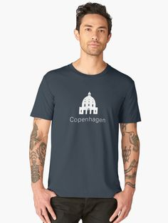 c28dfb86c5d2 Copenhagen Landmark Marble Church Men's Premium T-Shirt Halloween Mug,  First Halloween, Halloween