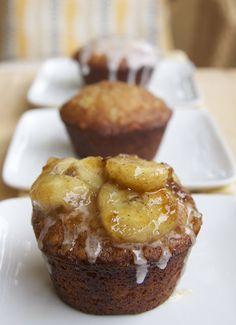 Banana Foster Cupcakes