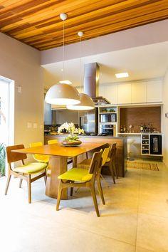 'Sala de Jantar Residencial Brooklin BY Arq&Design Viva Decora - 9848'