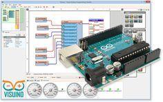 Program Arduino boards visually, fast and easy with Visuino #Visuino #Arduino