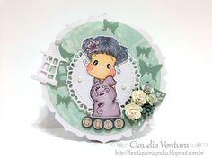 Desafio #27 Boutique Magnolia - Tema livre || Sakura Tilda - Sakura Collection 2015 || Pintura: Copic Markers