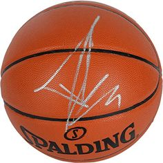 Tony Parker San Antonio Spurs Autographed Spalding Indoor Outdoor Basketball - Fanatics Authentic Certified  100% Certified Authentic and Backed by our Sports Memorabilia Authenticity Guarantee  Comes with a Certificate of Authenticity from Fanatics Authentic  Category; Autographed Basketballs  Makes a Great Gift!