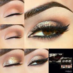 My Beauty Weapon Palette, 24k Gem Dust, Black Khol Eyeliner, Noir Liquid Eyeliner.