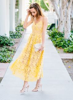 #OOTD: Sydne Style Is Fresh as a Daisy in Summer's It Dress