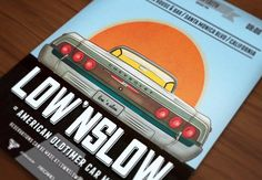 Low'n Slow Car Poster/Flyer V by Grafixity on @creativemarket