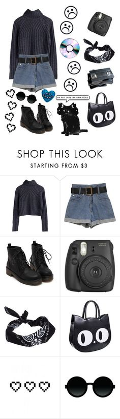 """Grunge"" by musicmarshmellow77 ❤ liked on Polyvore featuring Fujifilm, ASOS, Gosh, Retrò, Moscot and Sourpuss"