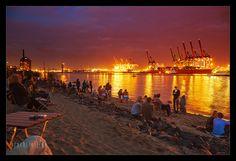 Am Elbstrand Oevelgönne Bilder und Fotos aus Hamburg