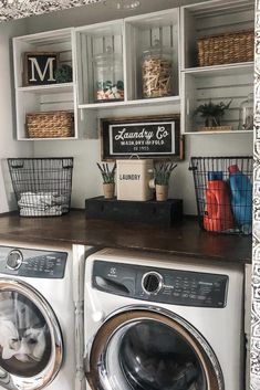 laundry room decor just looking a picture is not enough, visit my website to see more about smart Farmhouse laundry room storage organization ideas. Laundry Room Remodel, Laundry Decor, Laundry Room Organization, Laundry Room Design, Storage Organization, Small Laundry Rooms, Laundry Room Makeovers, Smart Storage, Storage Ideas