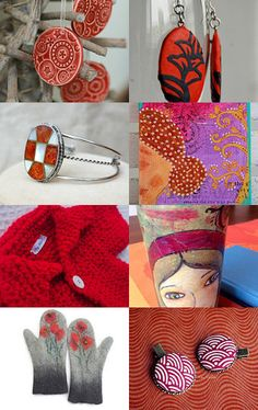 Getting Ready For Christmas by Lady Ly on Etsy--Pinned with TreasuryPin.com #christmasgifts