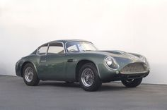 1961 DB4 GT Zagato #car #vintage.  Yes this is what I want!!!!
