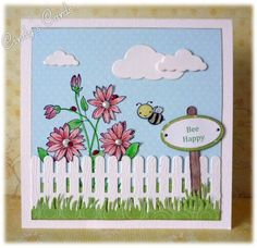 Sunshine in the Garden by frenziedstamper - Cards and Paper Crafts at Splitcoaststampers