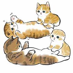 Animal Sketches, Animal Drawings, Kitten Drawing, Kawaii Illustration, Black Veil Brides, Diy Painting, Cat Art, Cats And Kittens, Cute Cats
