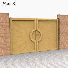 3Dsmax Door Barndoor - 3D Model