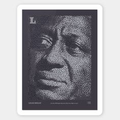 Five Icons of american music history dealt with five typographic works of The portraits are made out of the Letters B Lead Belly, Letter B, Making Out, Musicians, Blues, Portraits, Icons, History, American