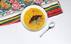 Supa cremoasa de porumb cu lapte de cocos