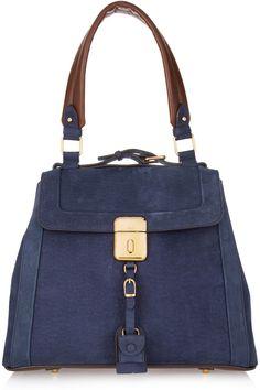 Chloe Brushed Leather Shoulder Bag